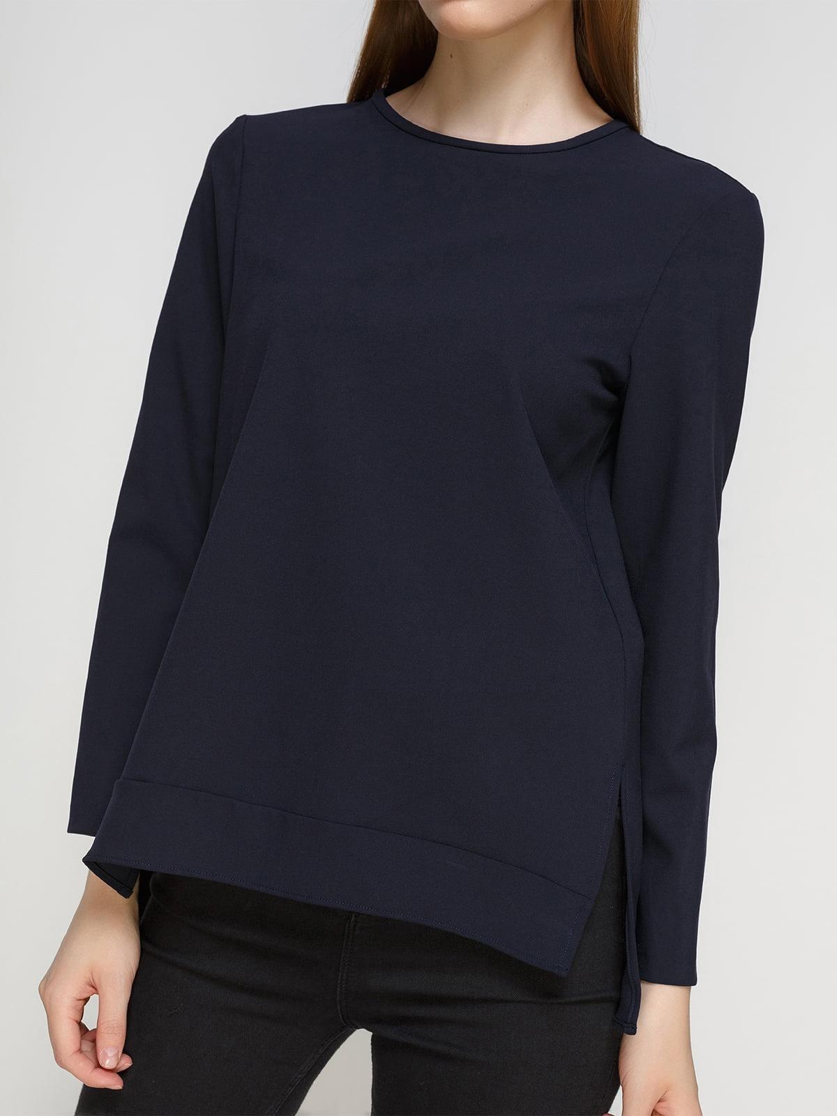 Блуза синяя | 2758645 | фото 3