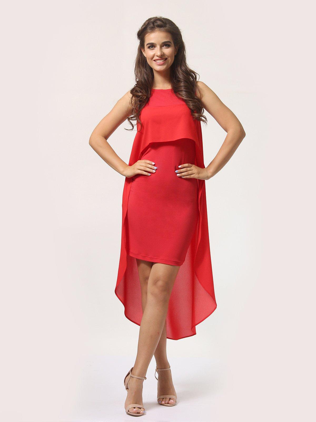Платье красно-белое   4290409   фото 3