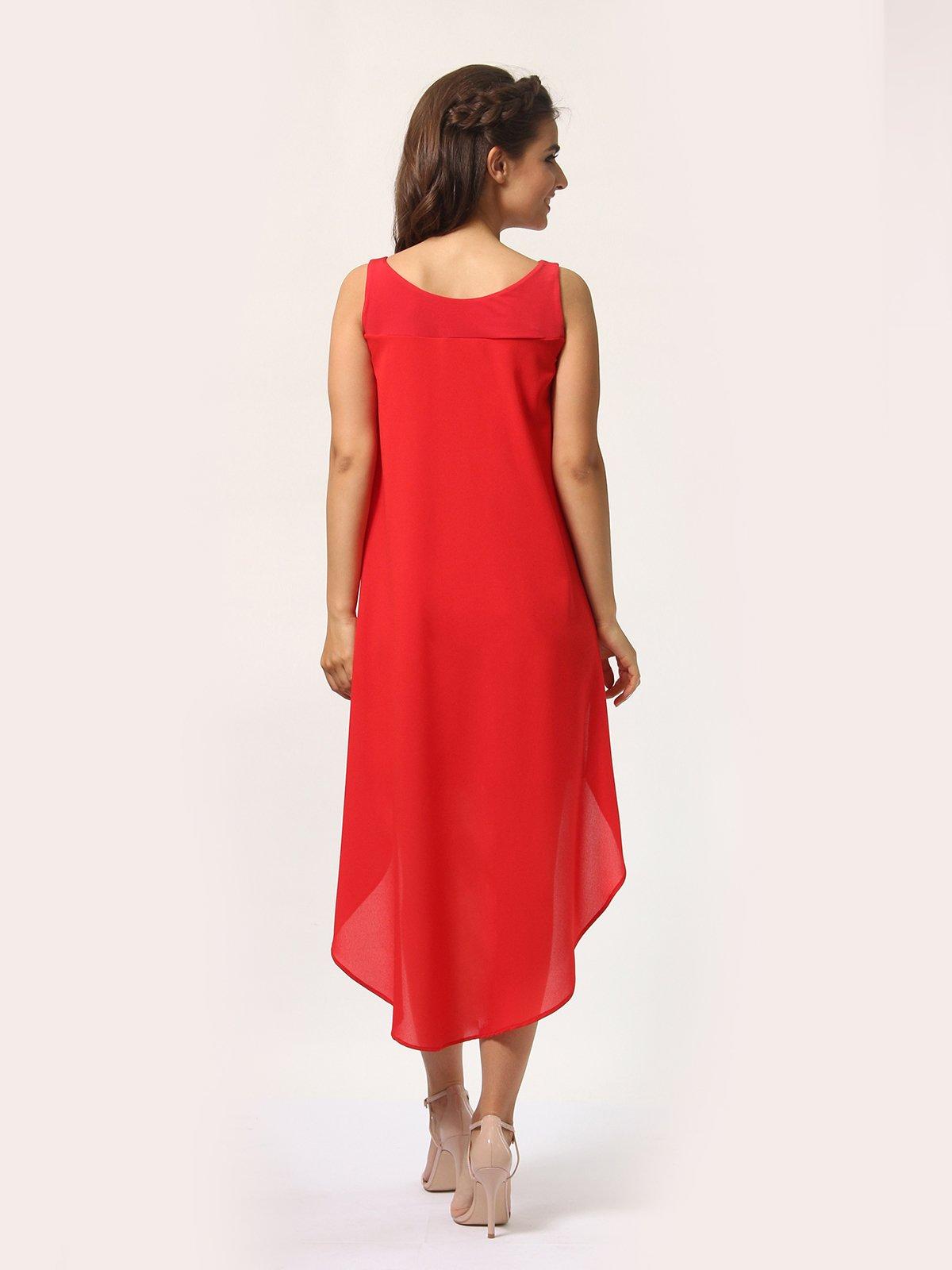 Платье красно-белое   4290409   фото 4