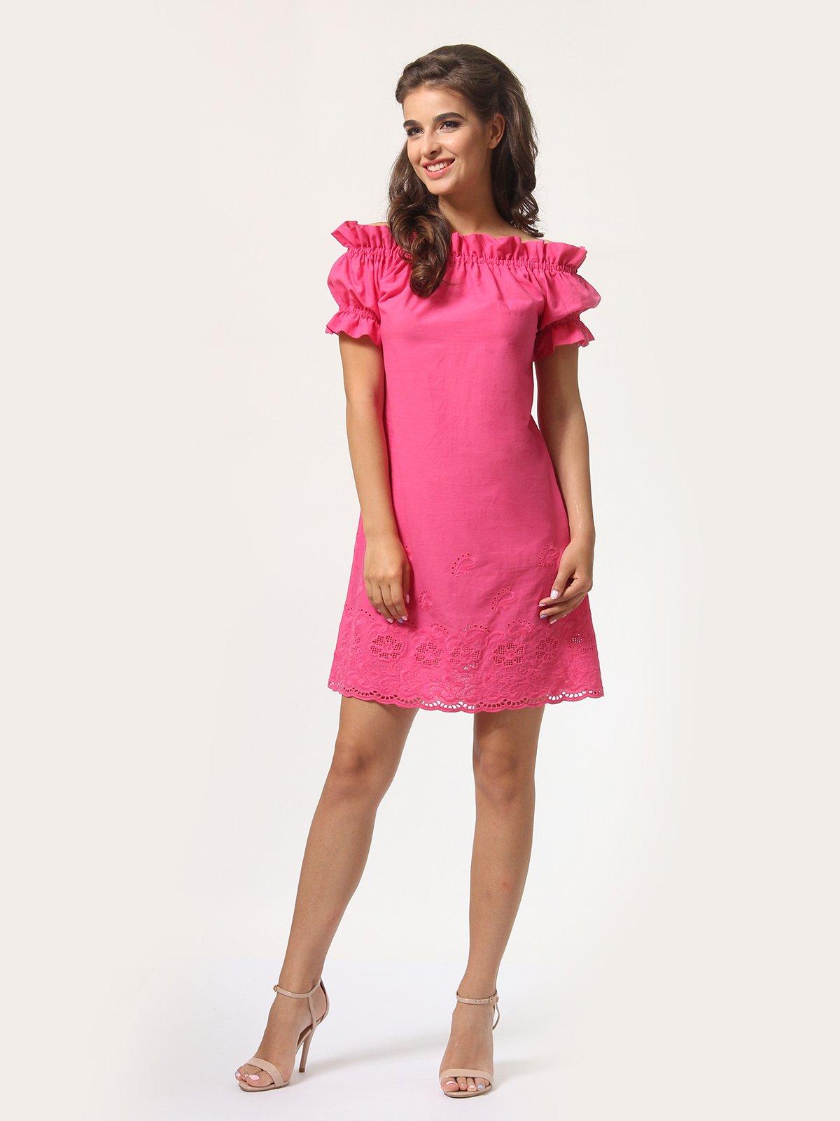 Сукня кольору фуксії | 4290413