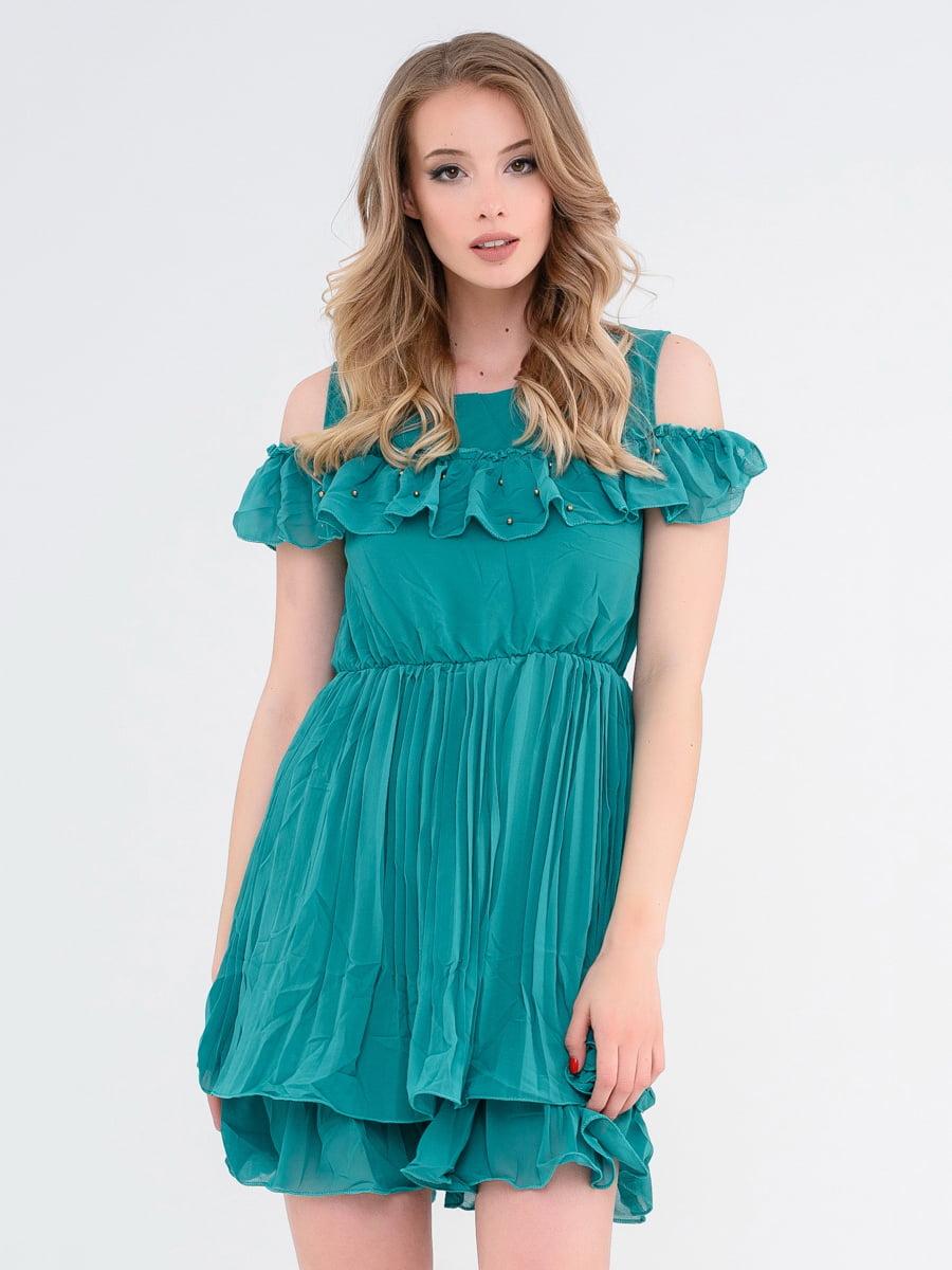 Платье зеленое | 4272046