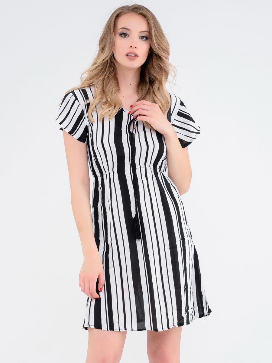 Платье в полоску | 4272203