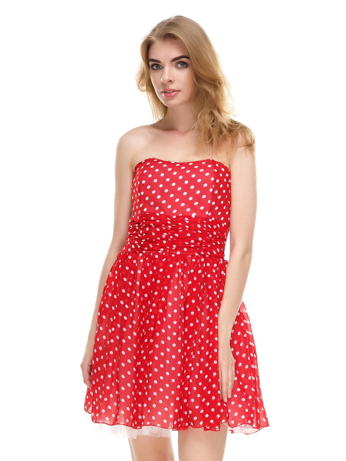 best loved acb3f d50cf Платье красное в горошек   4285312