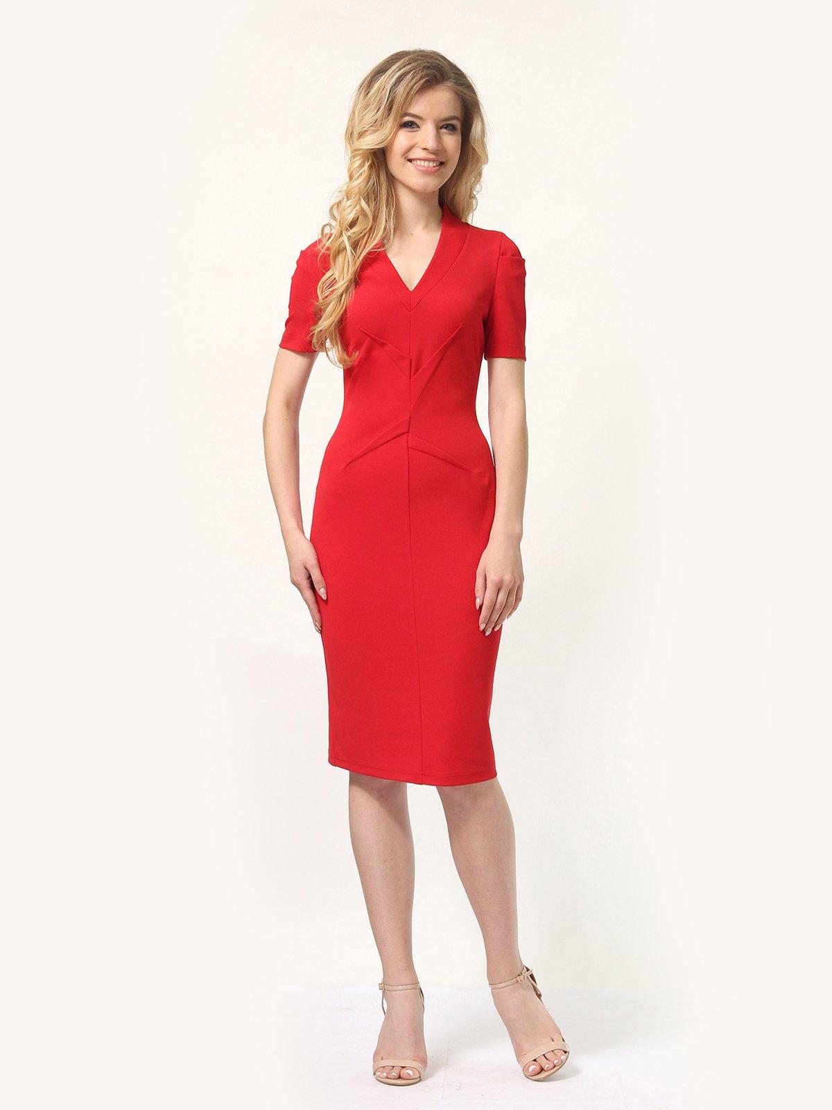 Платье красное   4301906