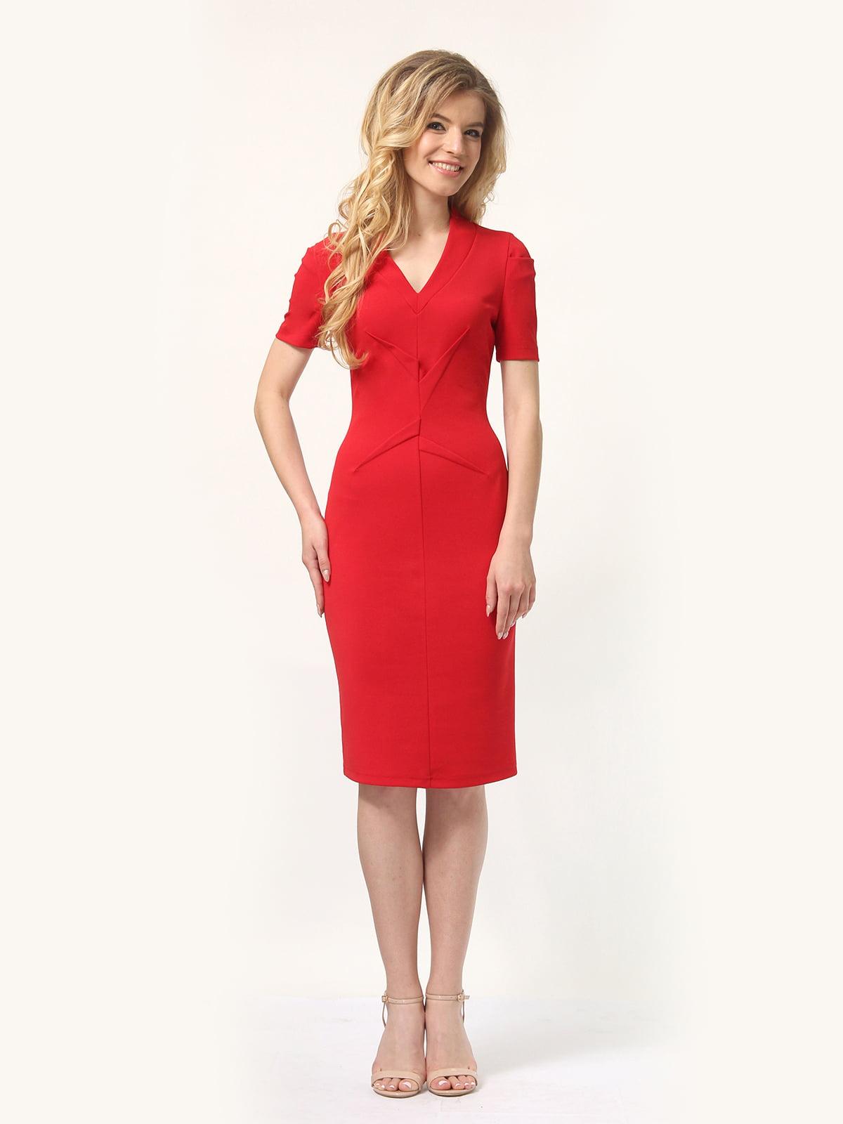 Платье красное   4301906   фото 2