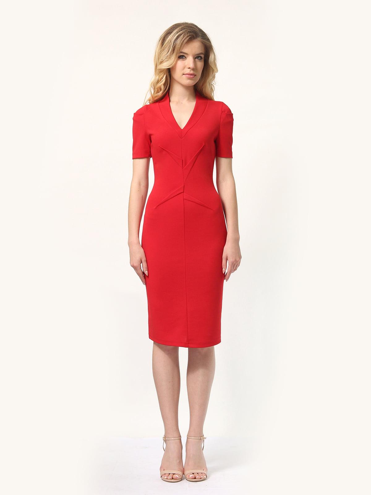 Платье красное   4301906   фото 3