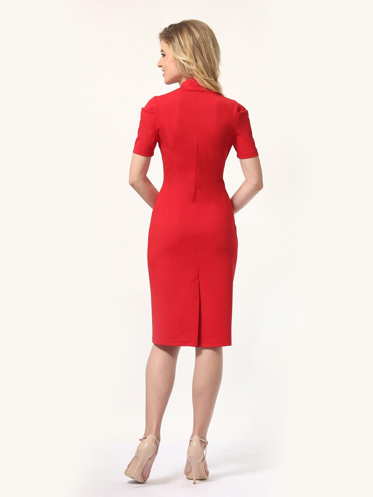 Платье красное   4301906   фото 4