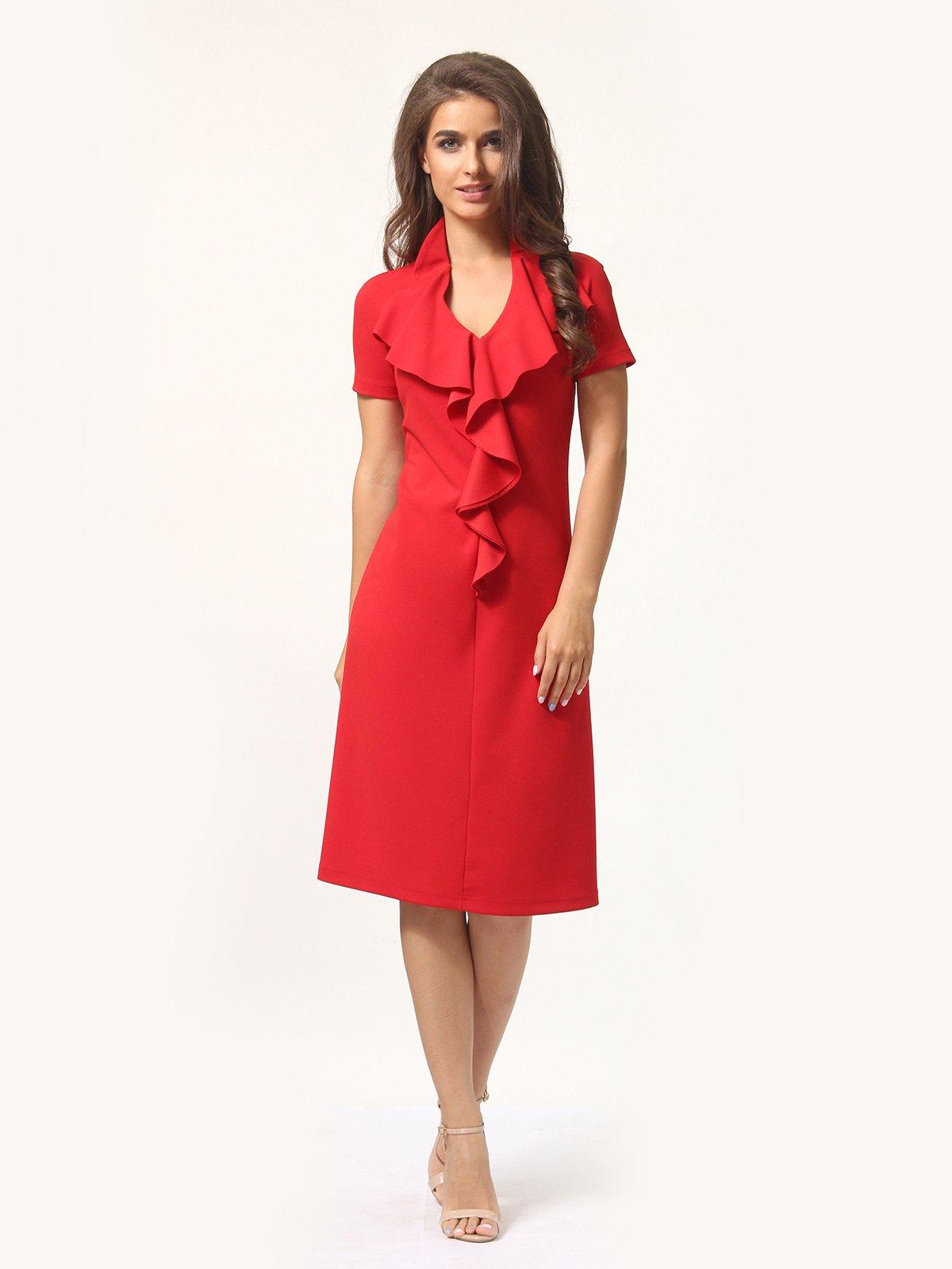 Платье красно-белое | 4301927