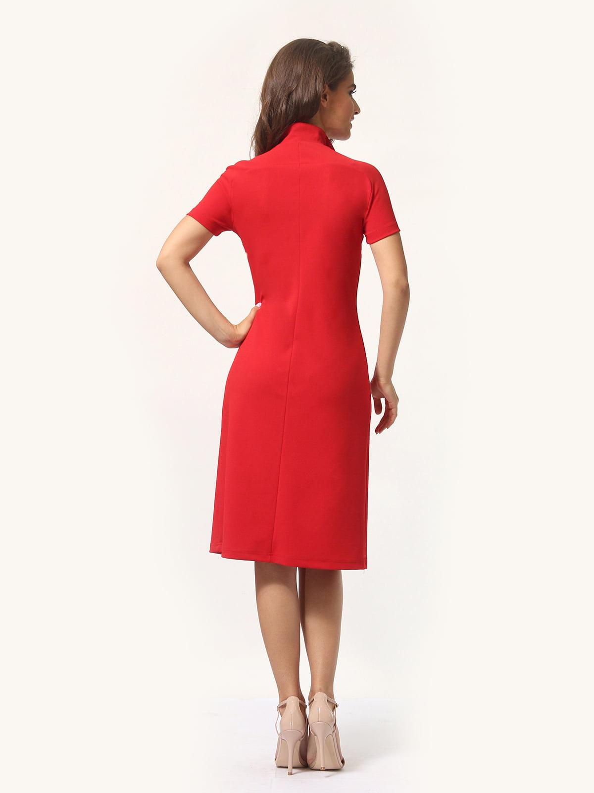 Платье красно-белое | 4301927 | фото 5