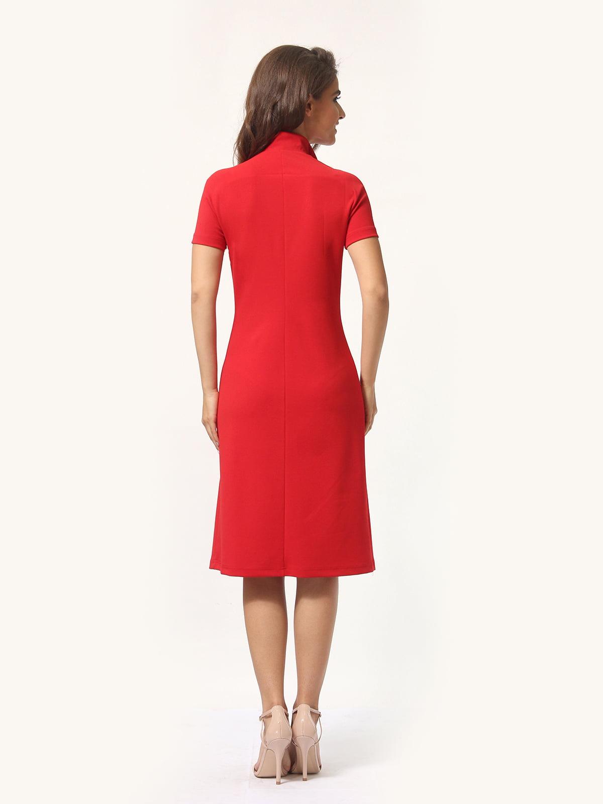 Платье красно-белое | 4301927 | фото 6