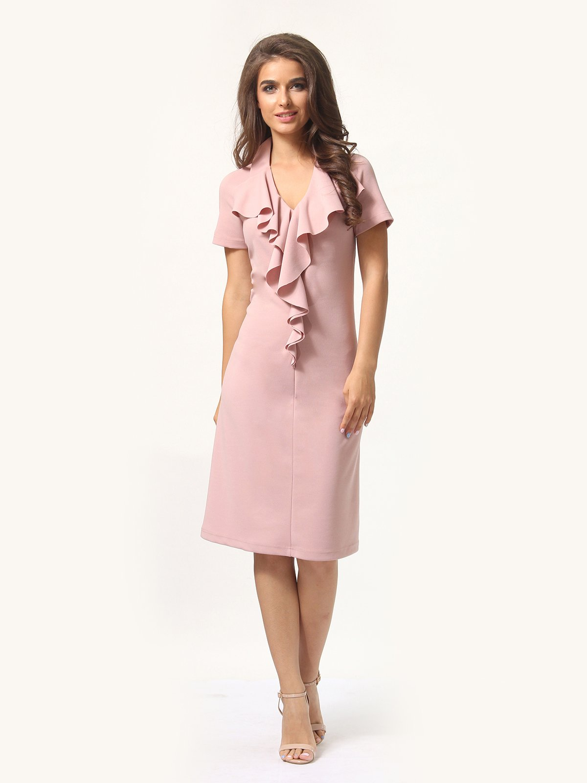 Платье цвета фрез | 4301928