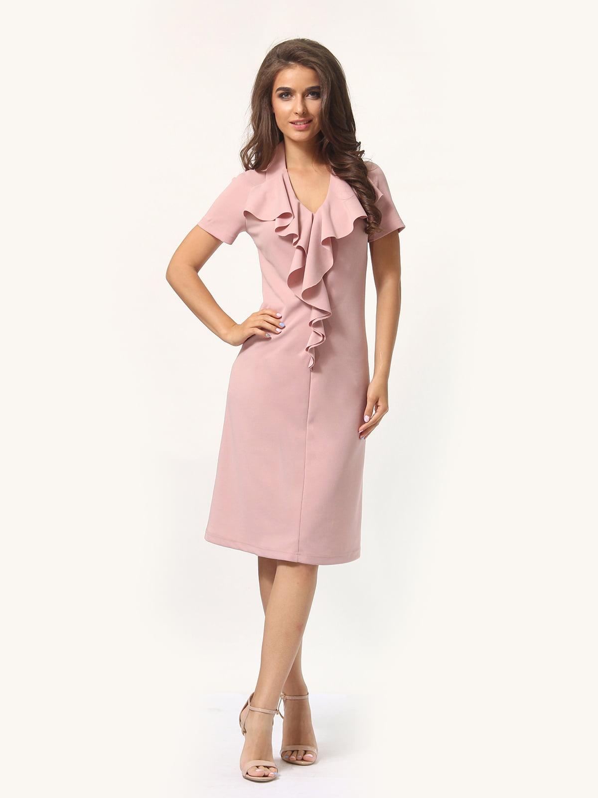 Платье цвета фрез | 4301928 | фото 2