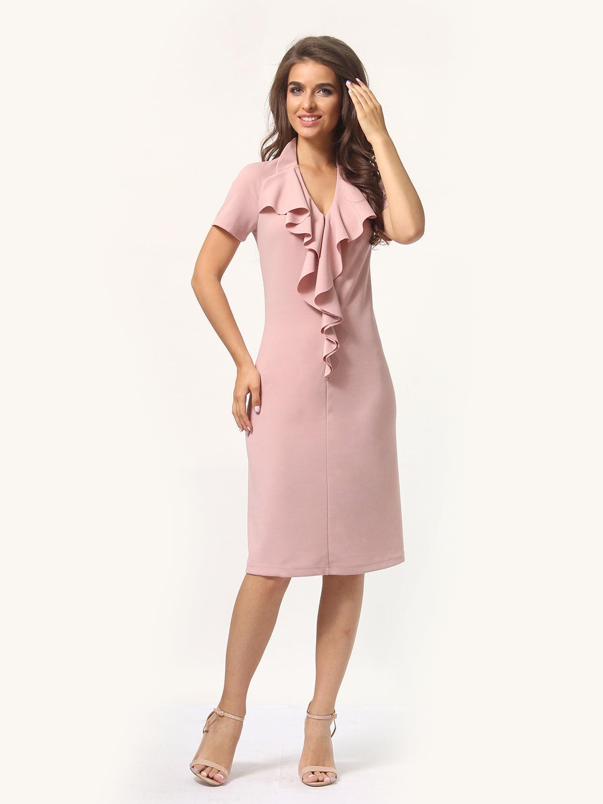 Платье цвета фрез | 4301928 | фото 3