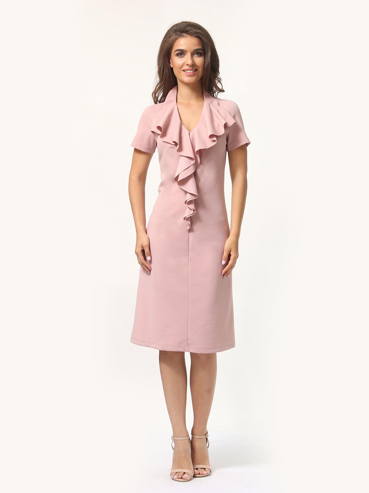 Платье цвета фрез | 4301928 | фото 4