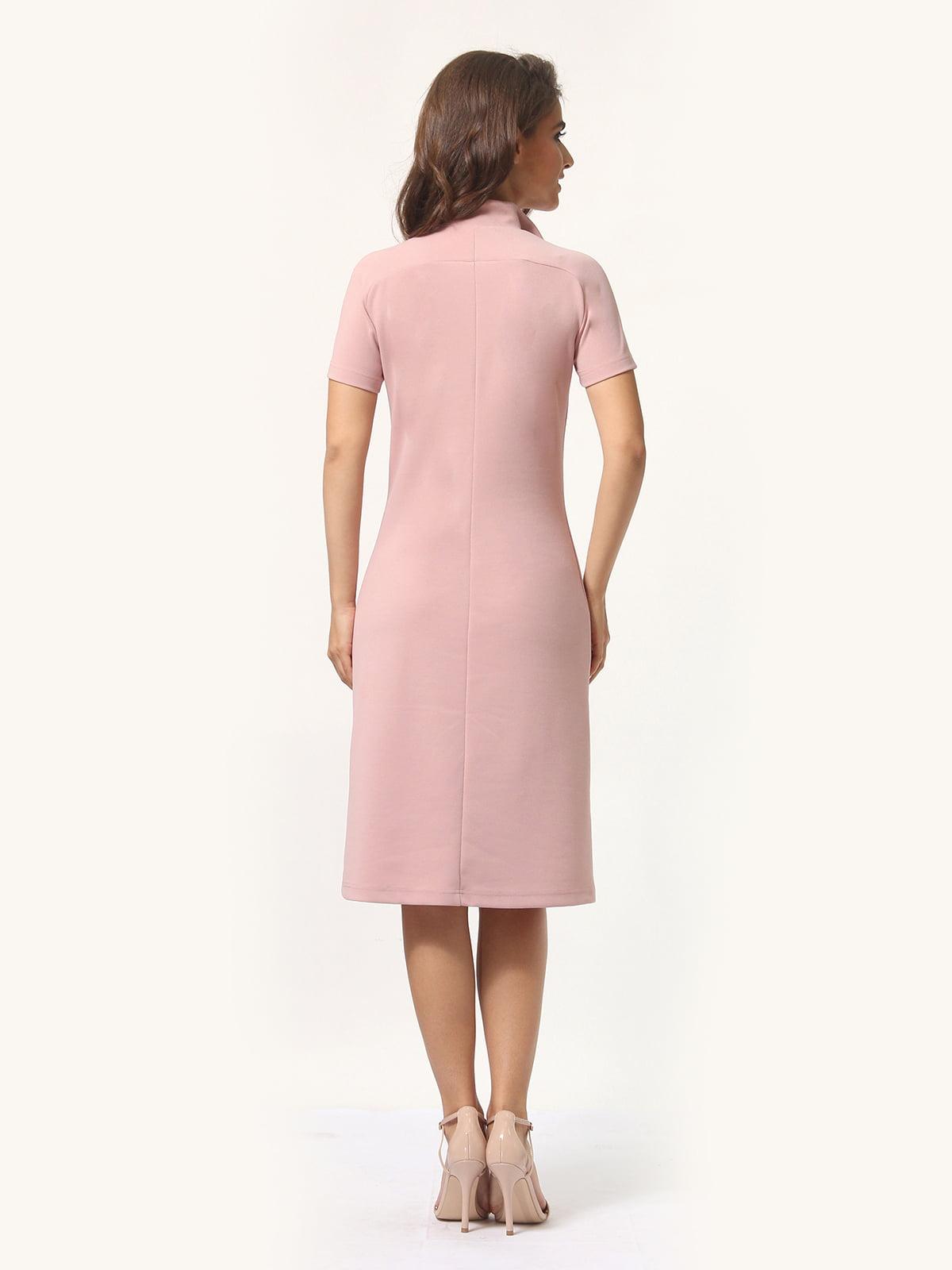 Платье цвета фрез | 4301928 | фото 6