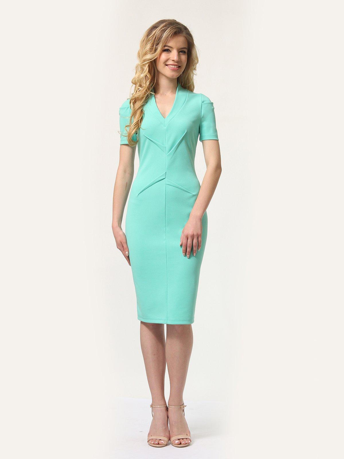 Платье мятного цвета | 4301932