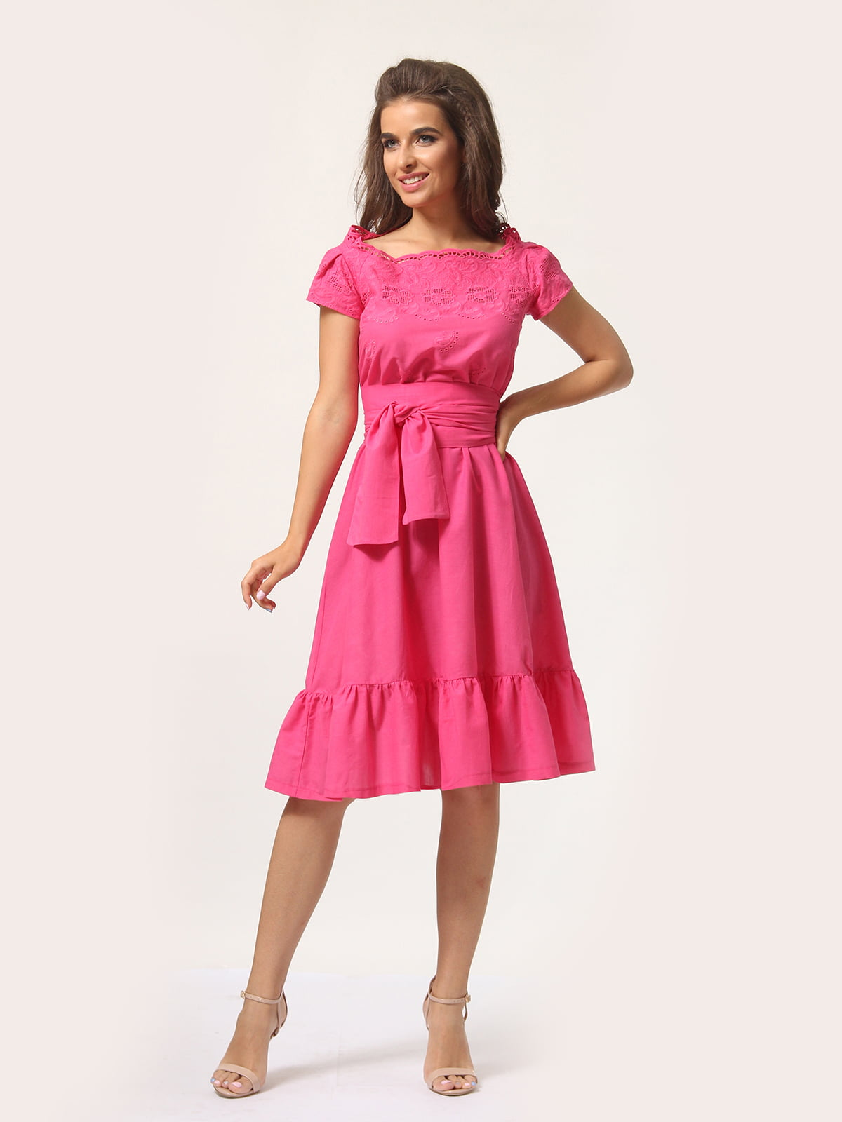 Платье цвета фуксии   4301924   фото 2