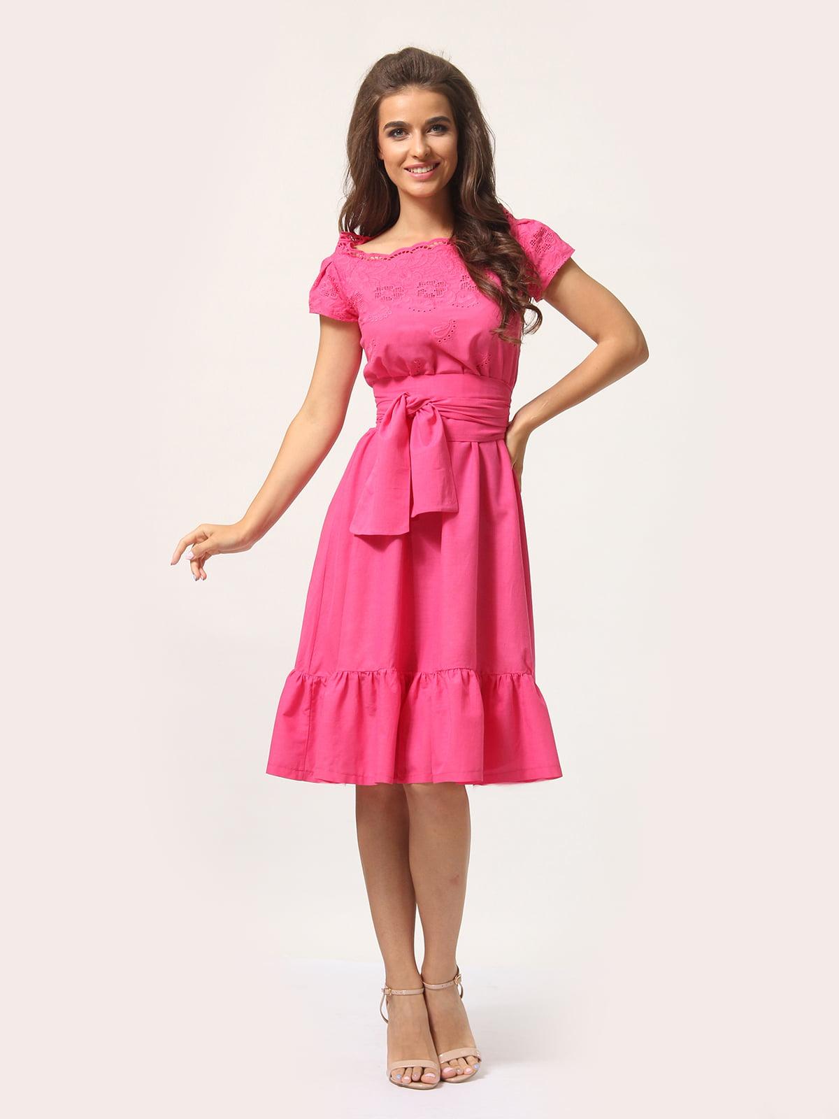 Платье цвета фуксии   4301924   фото 3