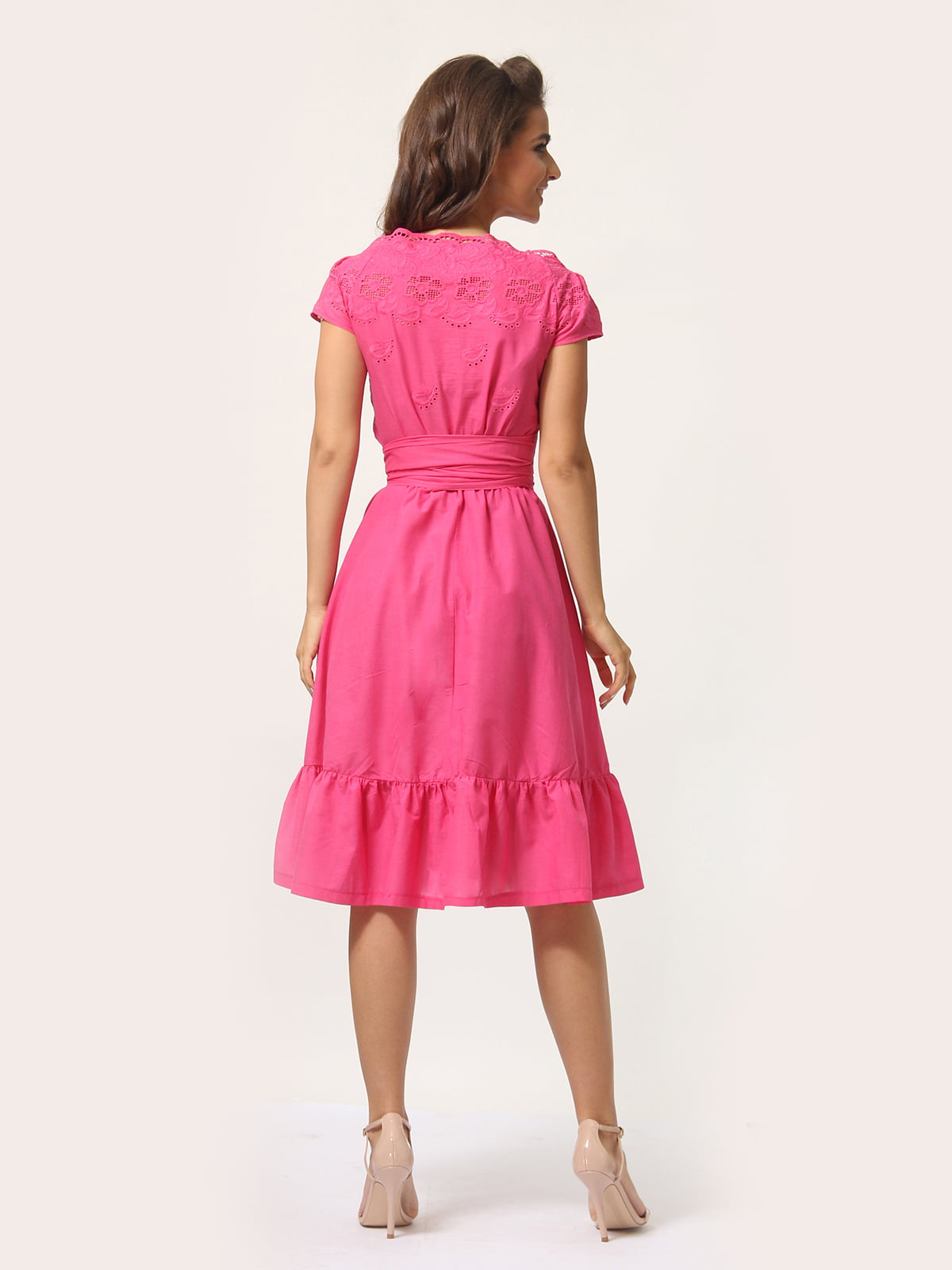 Платье цвета фуксии   4301924   фото 4