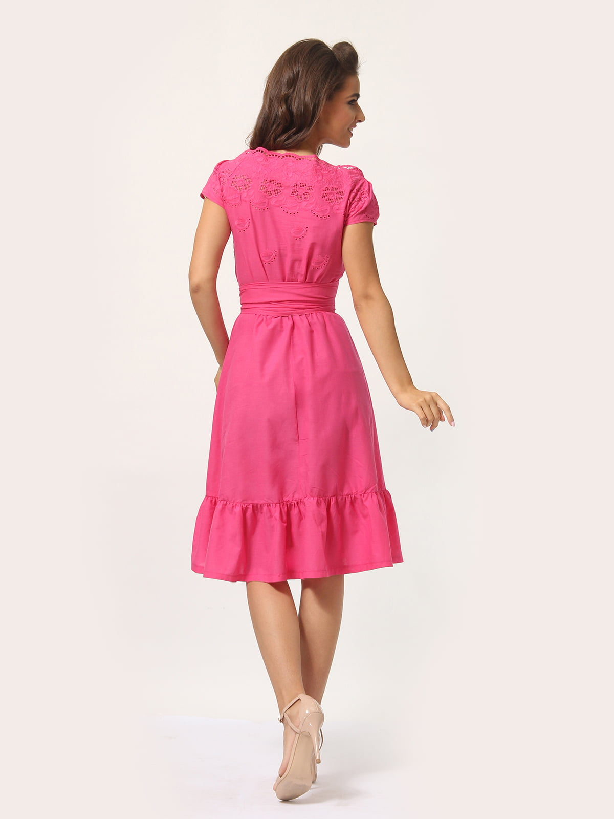 Платье цвета фуксии   4301924   фото 5