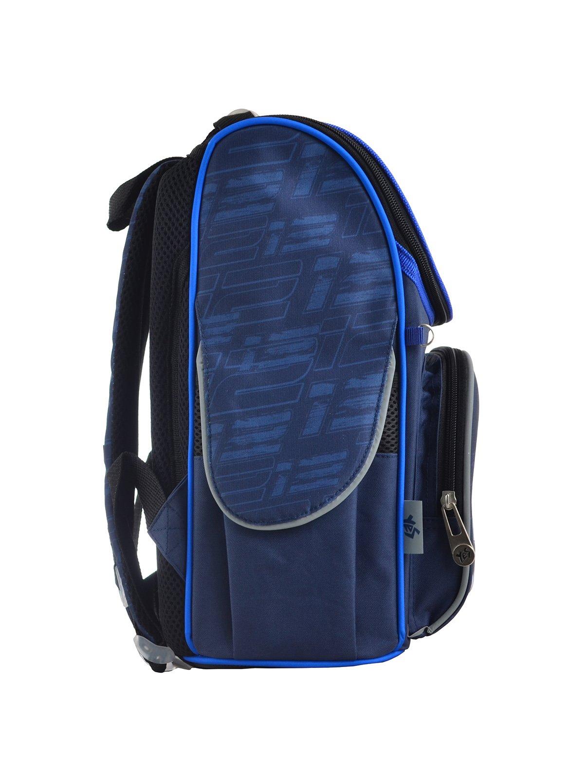 Рюкзак каркасний синій в принт | 4284745 | фото 2