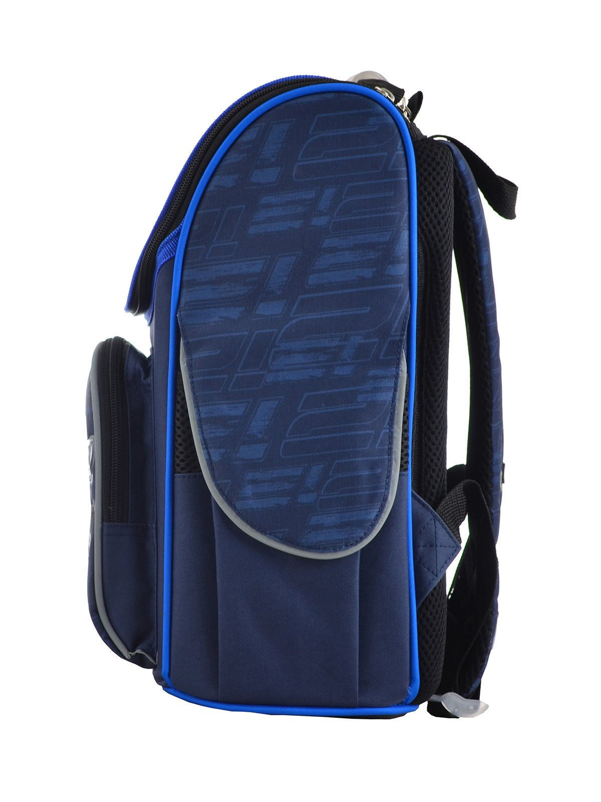 Рюкзак каркасний синій в принт | 4284745 | фото 3