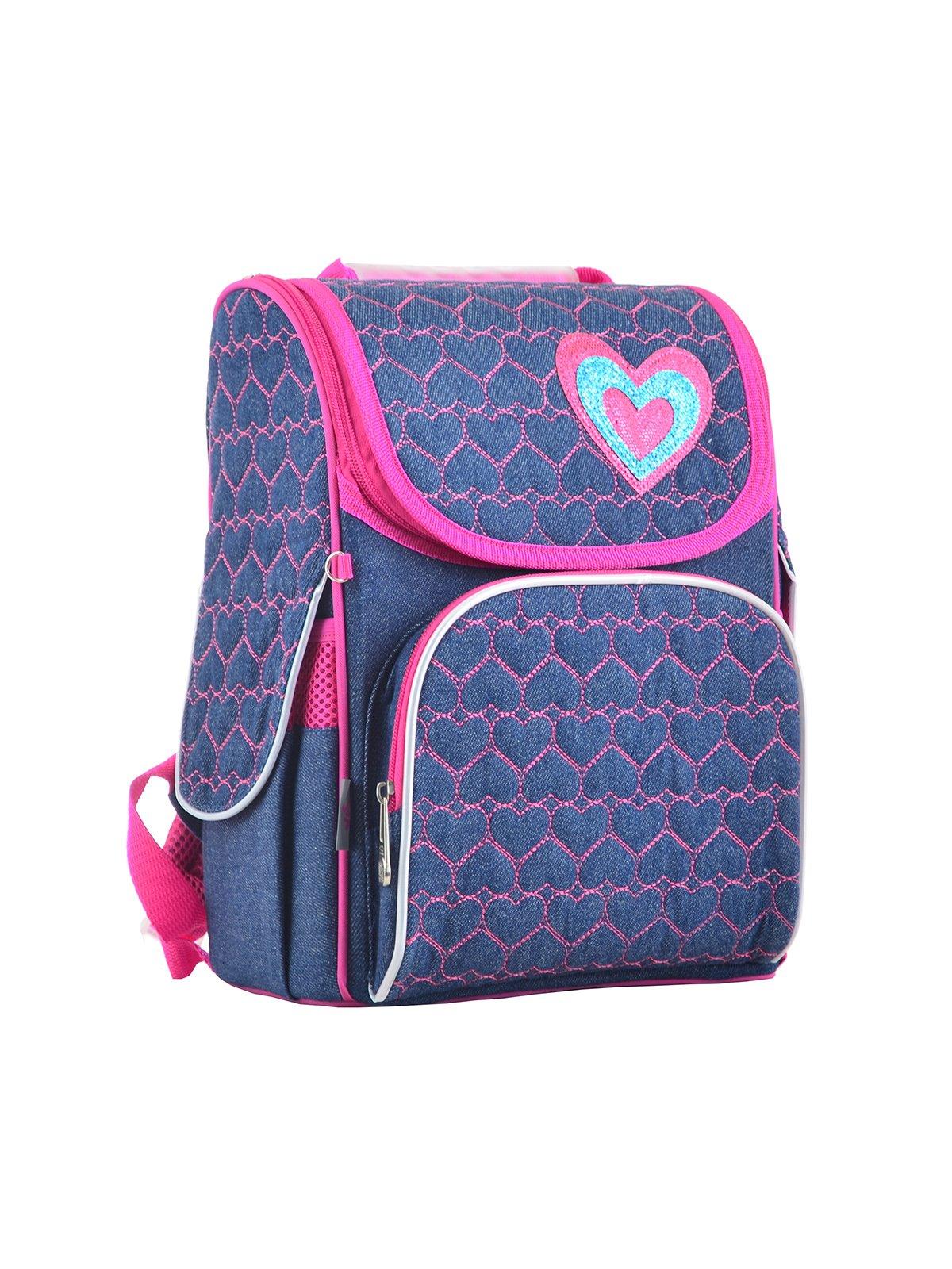 Рюкзак каркасний синьо-рожевий | 4284747