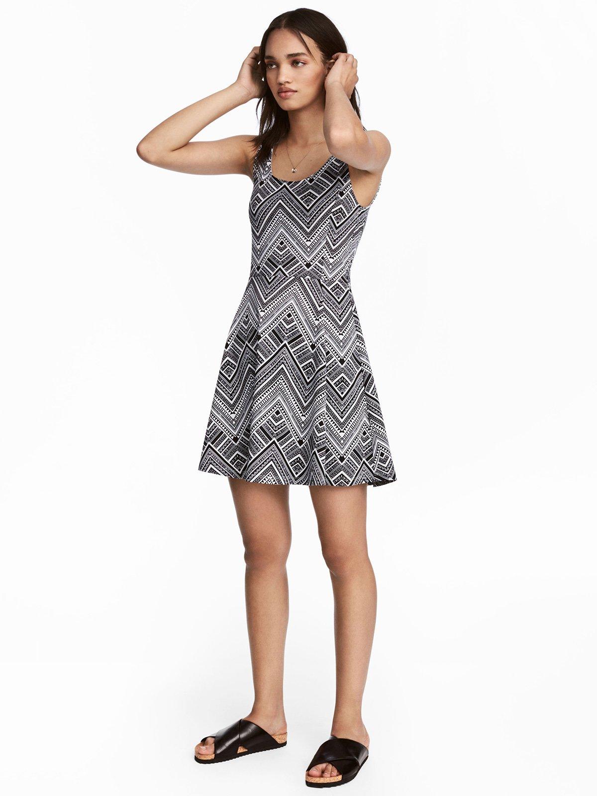 Сукня чорно-біла | 4293038