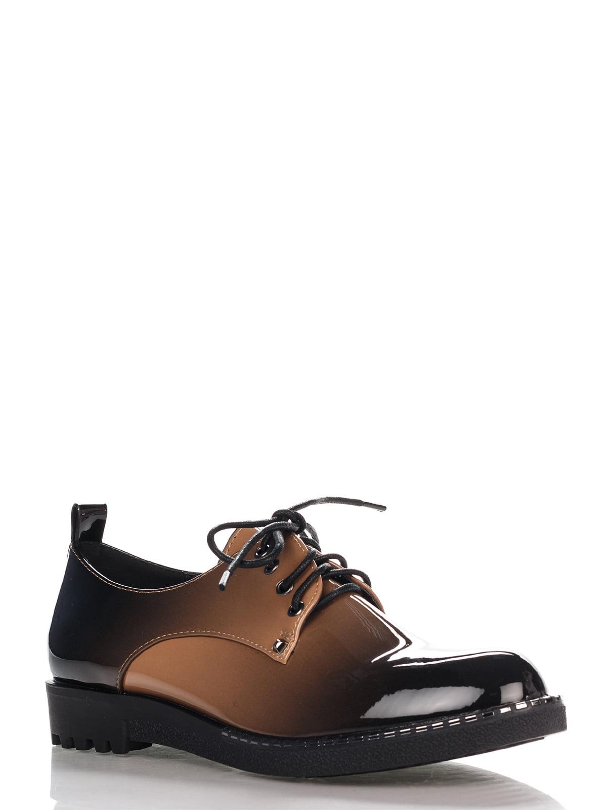 Туфли темно-коричневые | 4306393