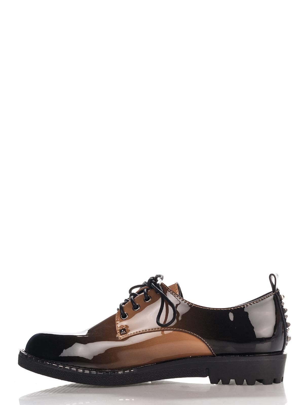 Туфли темно-коричневые | 4306393 | фото 2