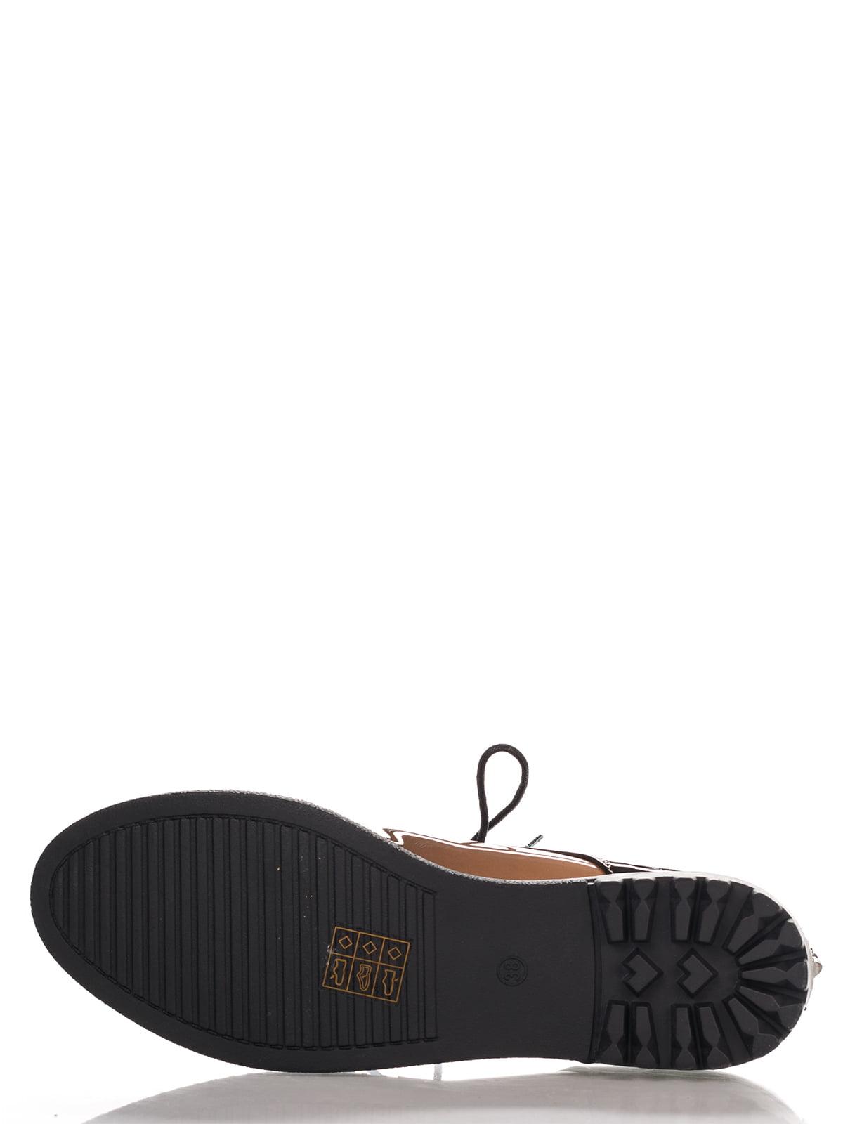Туфли темно-коричневые | 4306393 | фото 4