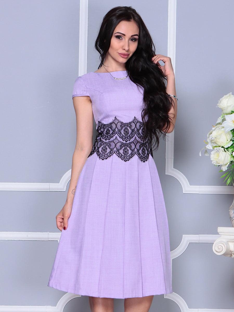 Платье светло-фиалковое   4297682   фото 5