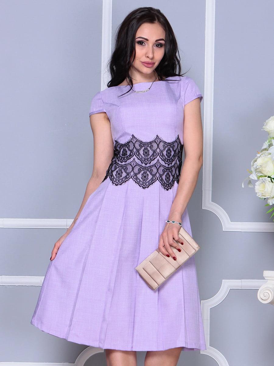 Платье светло-фиалковое   4297682   фото 3