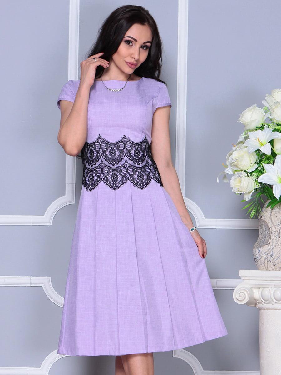 Платье светло-фиалковое   4297682   фото 4