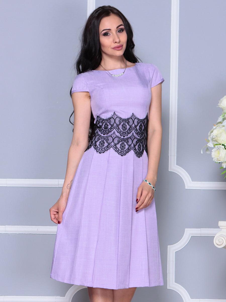 Платье светло-фиалковое   4297682   фото 6
