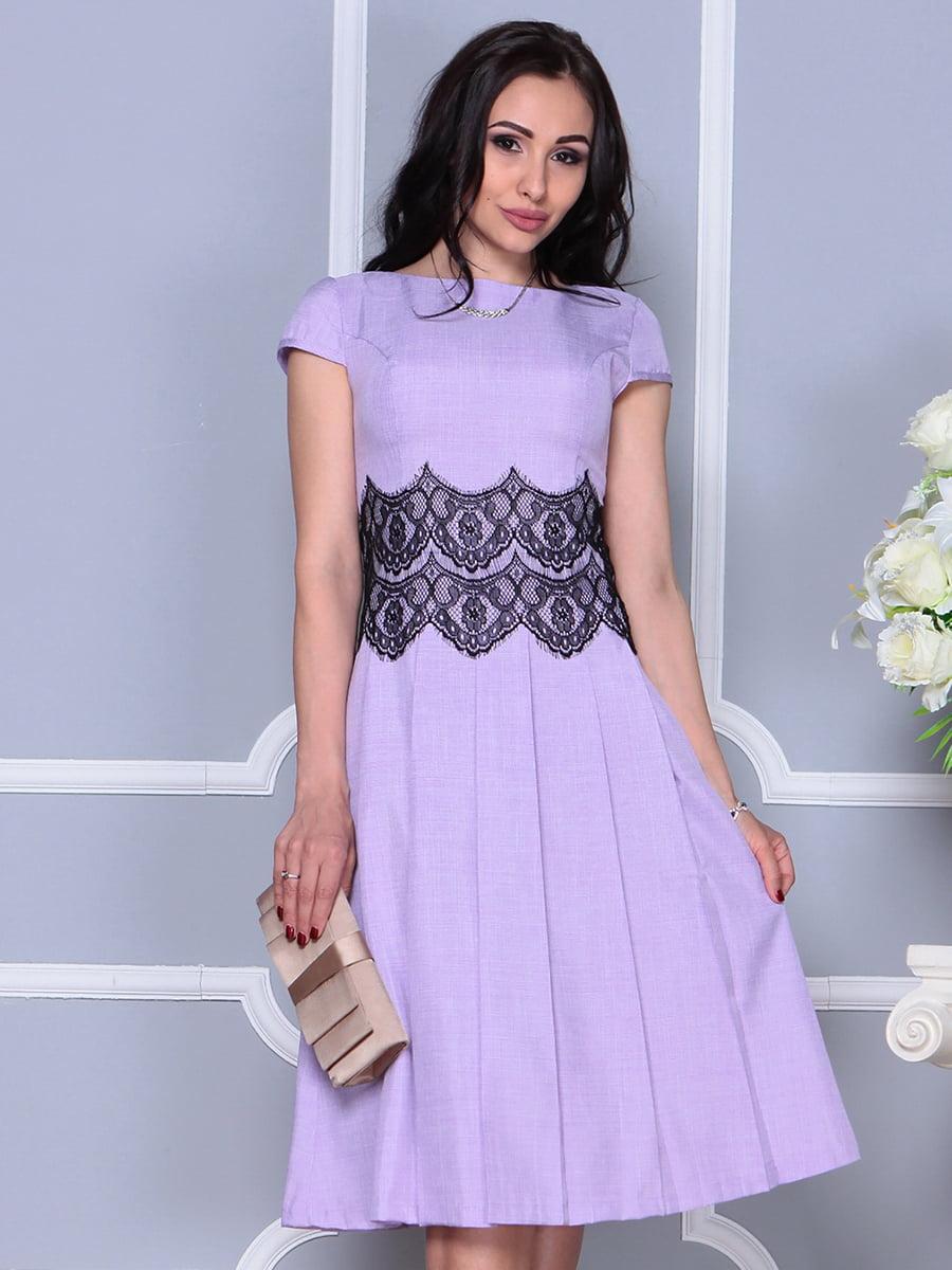Платье светло-фиалковое   4297682