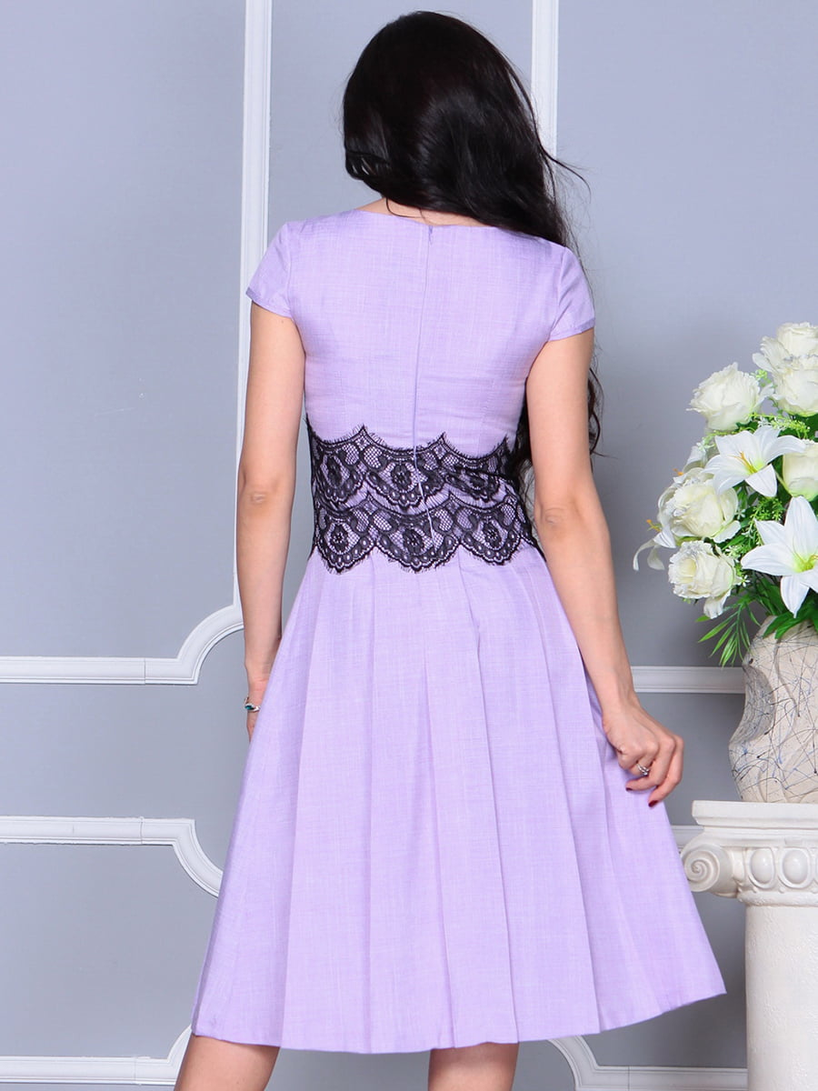 Платье светло-фиалковое   4297682   фото 2