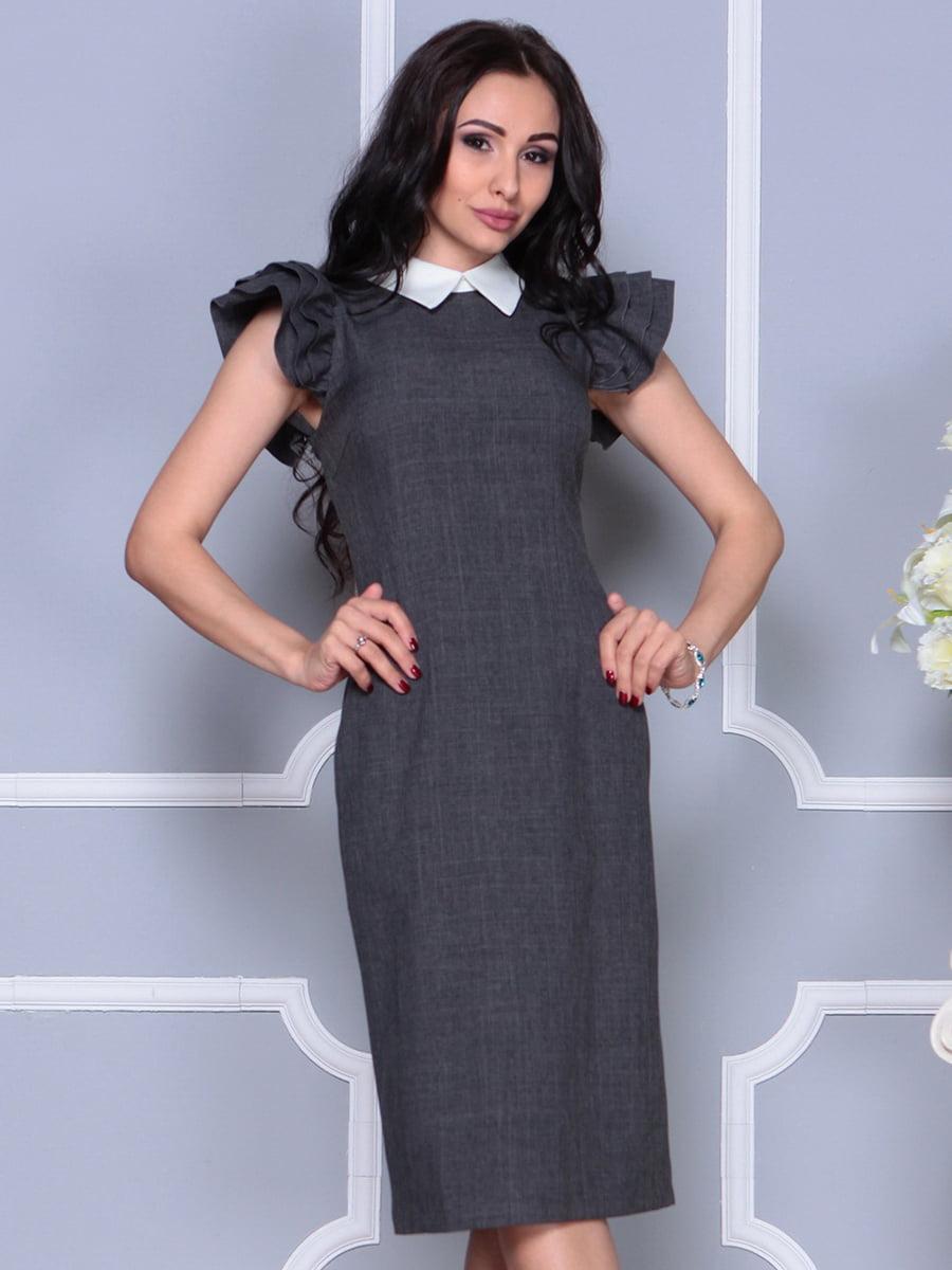 Платье цвета графита   4297691   фото 3