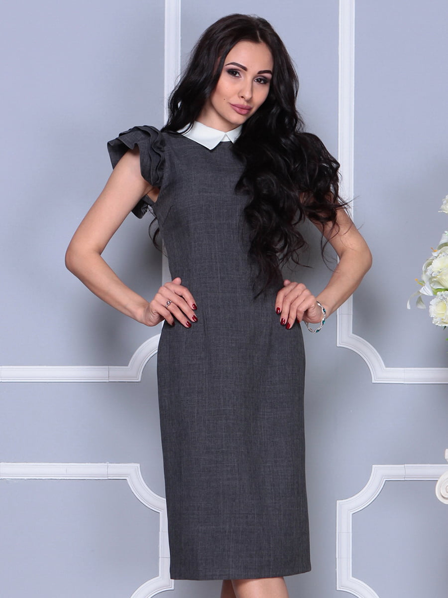 Платье цвета графита   4297691   фото 5
