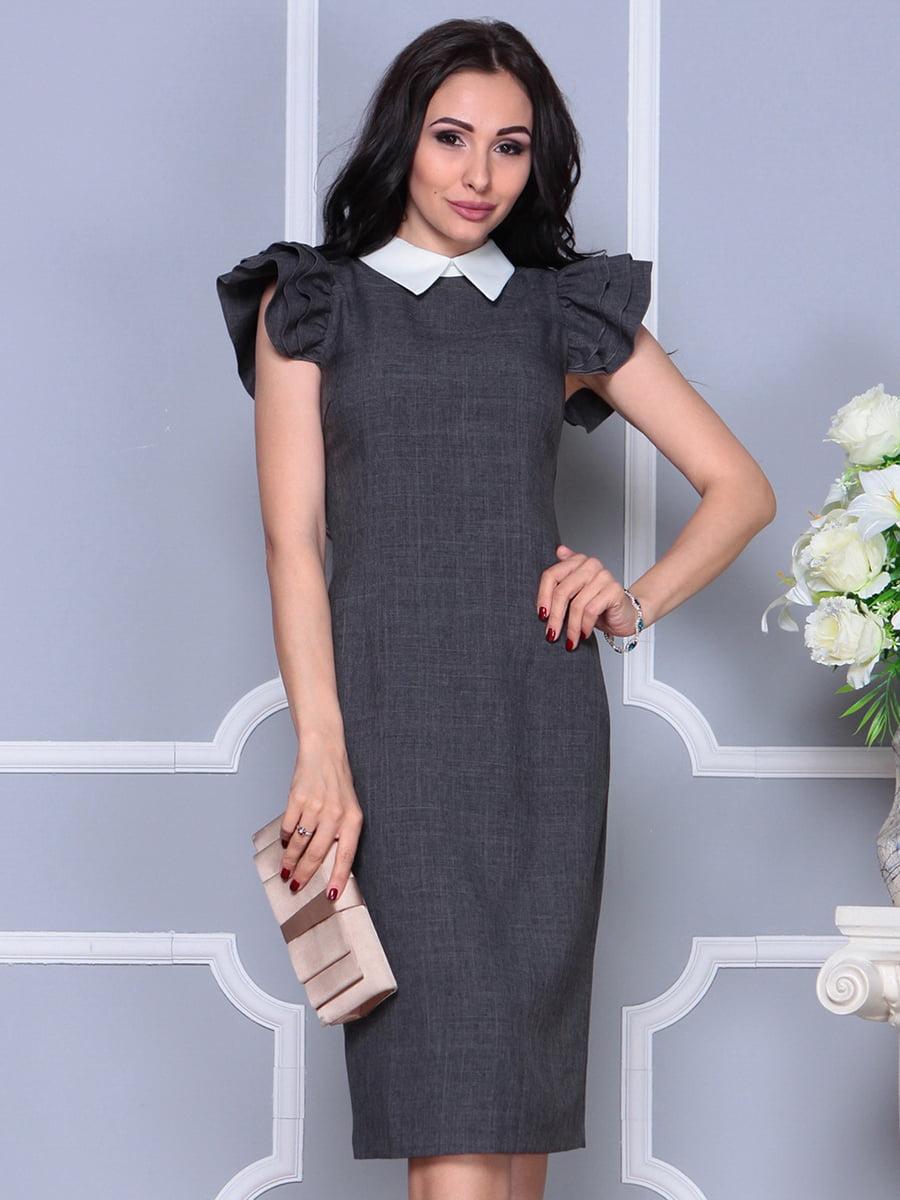 Платье цвета графита   4297691