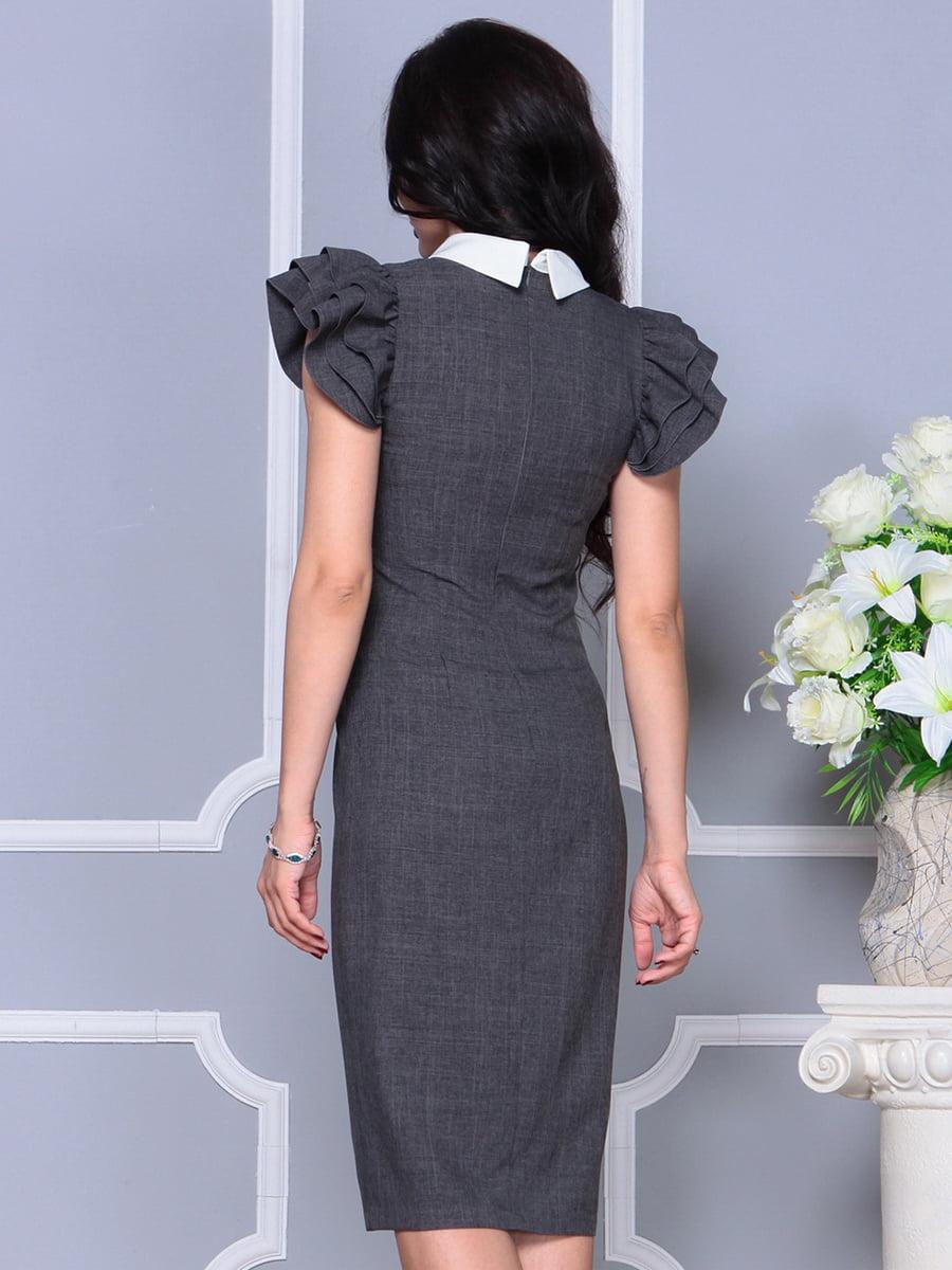 Платье цвета графита   4297691   фото 2