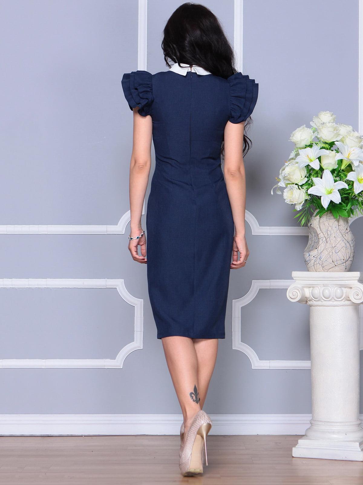 Платье темно-синее | 4297692 | фото 2