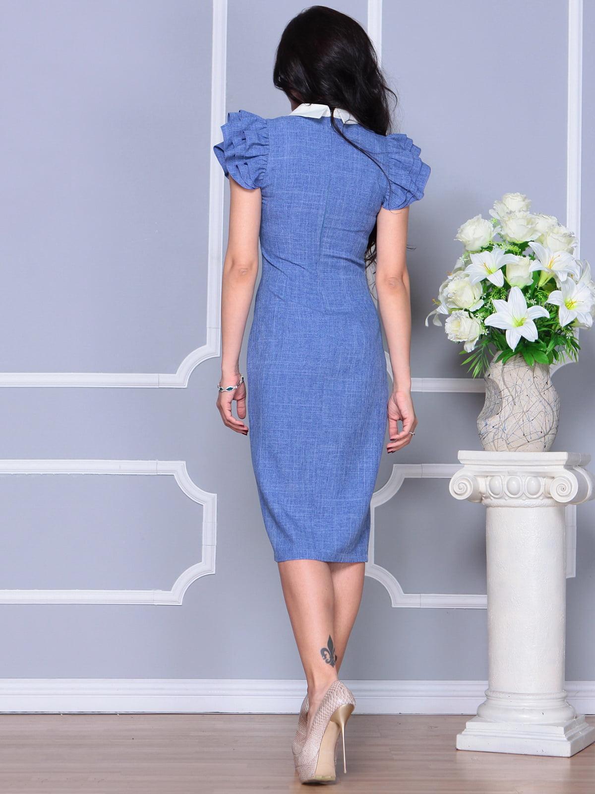 Платье синее   4297693   фото 2