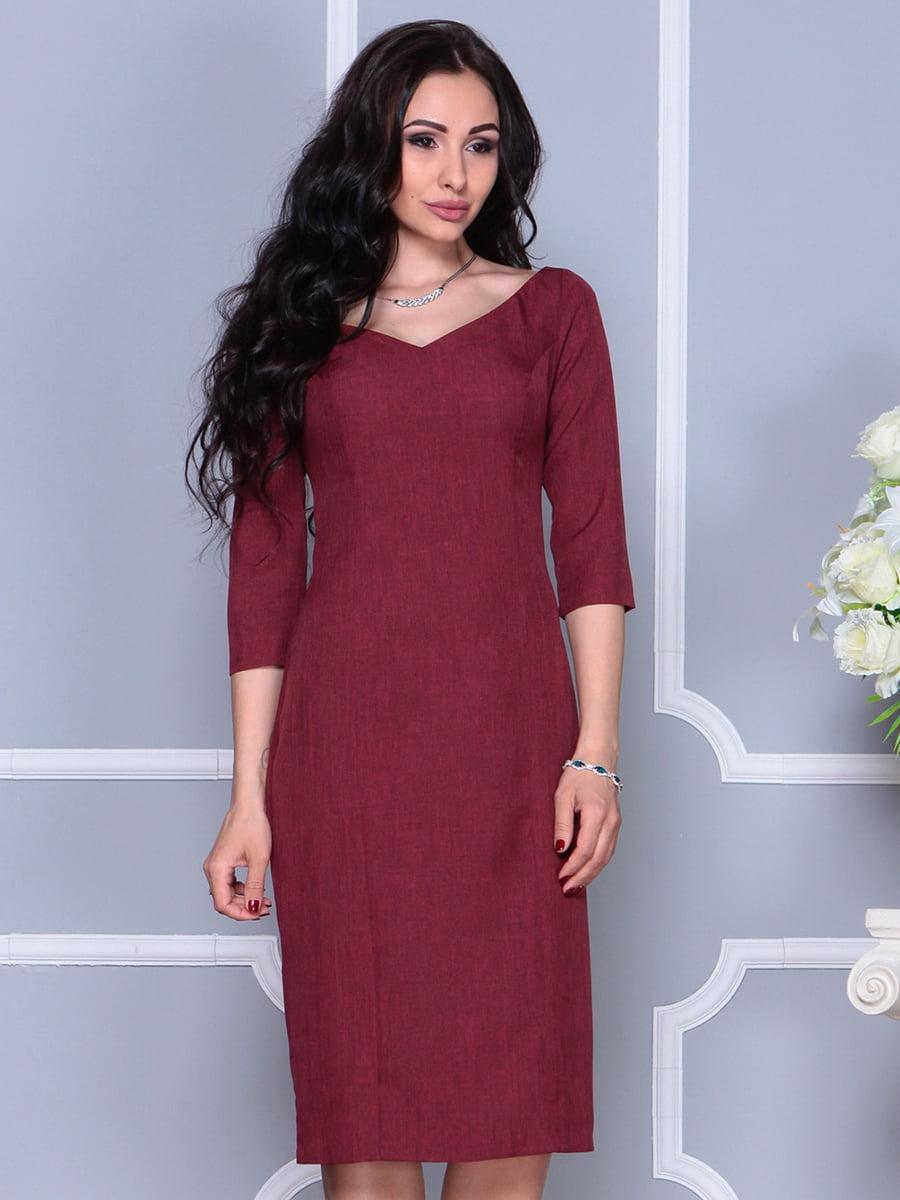 Платье светло-сливовое | 4297697 | фото 4