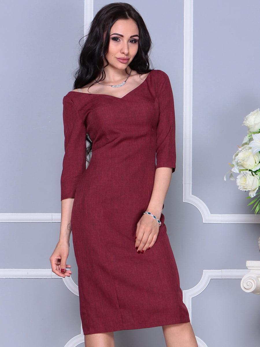 Платье светло-сливовое | 4297697