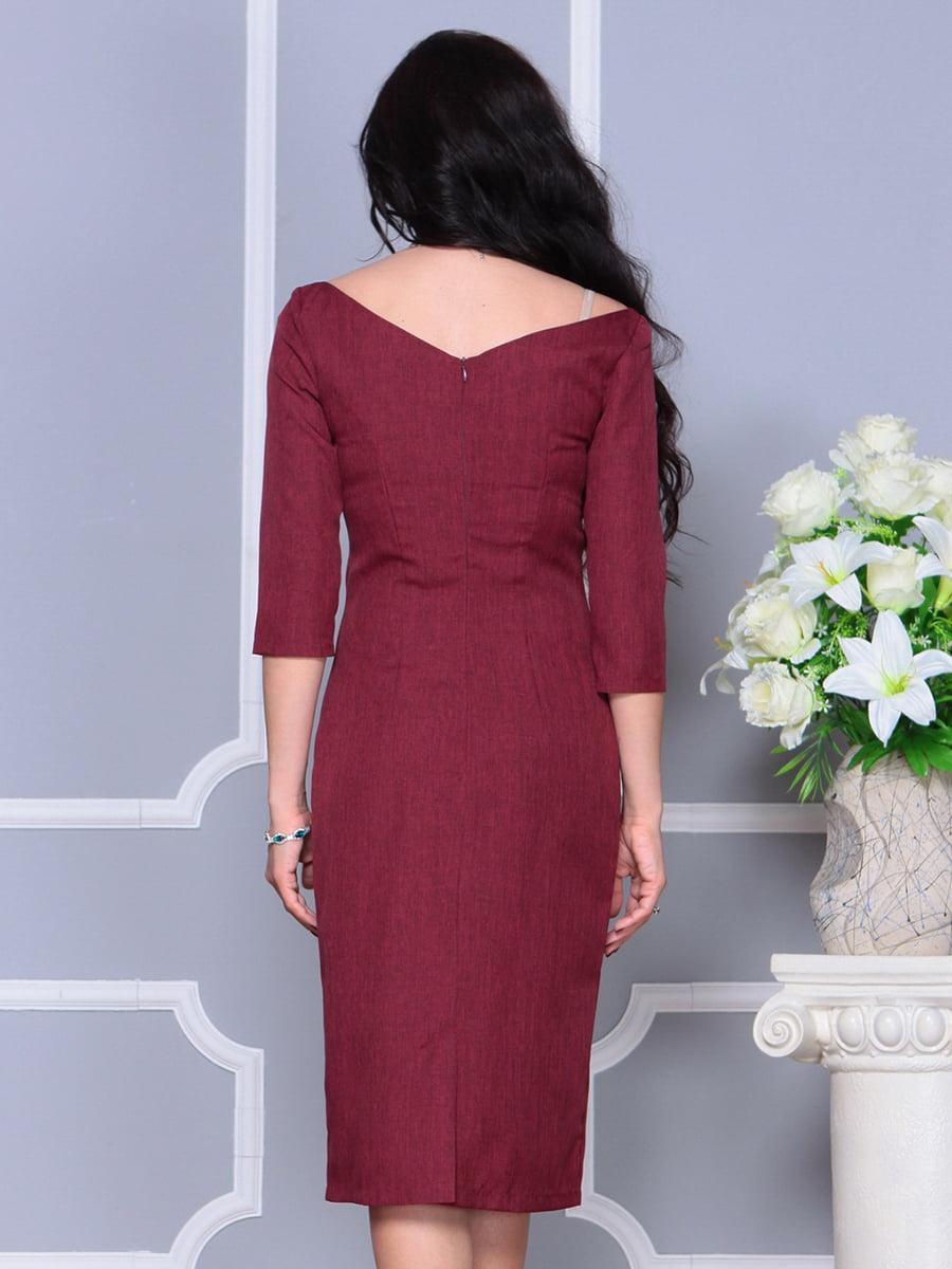 Платье светло-сливовое | 4297697 | фото 2