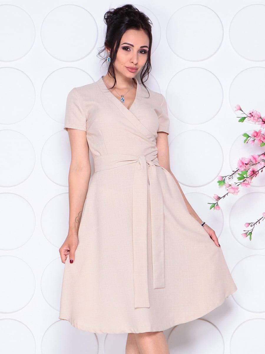 Платье бежевое | 4297702