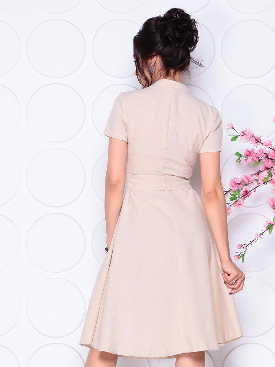 Платье бежевое | 4297702 | фото 2