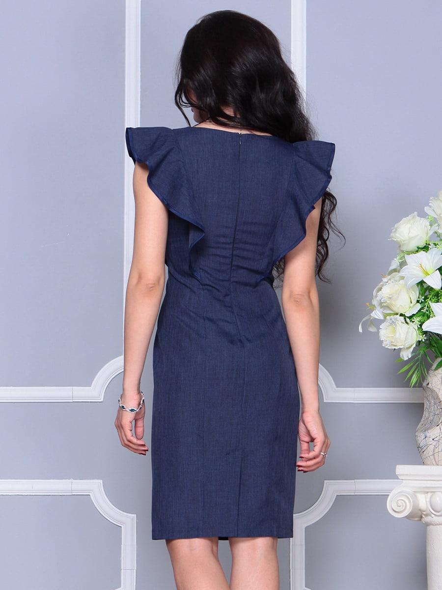 Платье темно-синее | 4297703 | фото 2