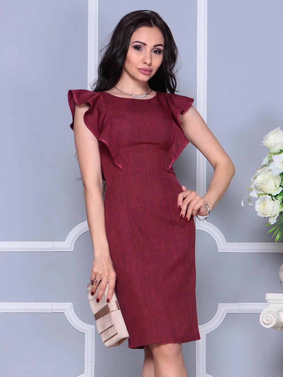 Сукня бордова | 4297704
